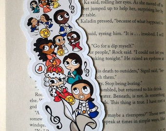 Hamy Bits Traditional Bookmark / BT356