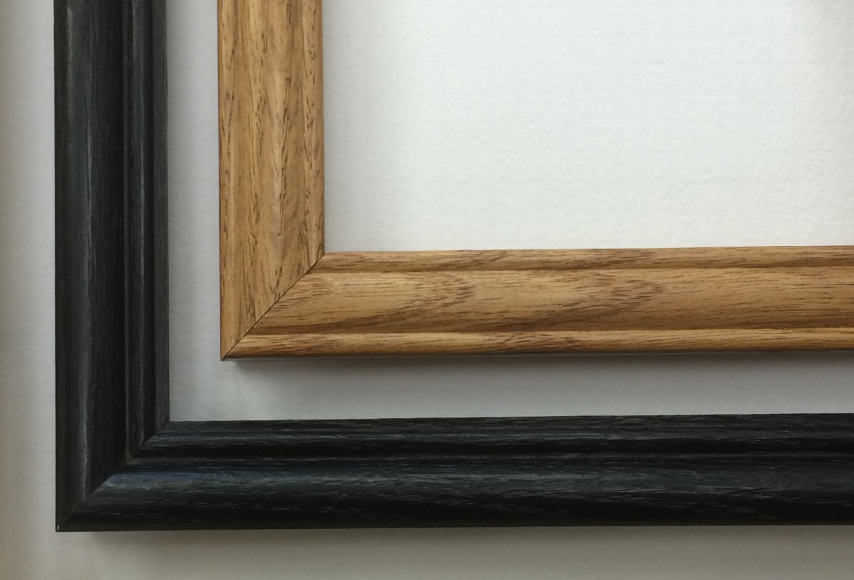 8 x 10 Holz Bilderrahmen Eiche Bilderrahmen schwarzer