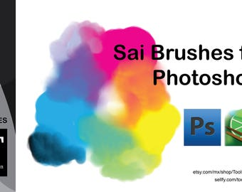 Paint Tool ups Style Photoshop brushes