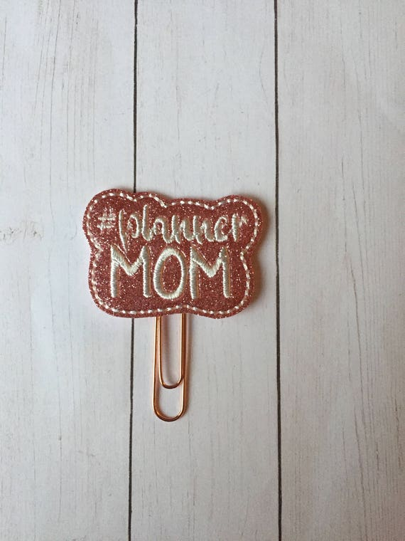 Planner Mom planner Clip/Planner Clip/Bookmark. Hashtag Planner Clip. Mom Planner Clip. Glitter Planner Clip. #Planner Mom. Planner Supplies