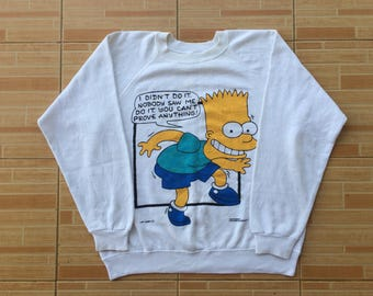 Rare Vintage 90s The Simpsons