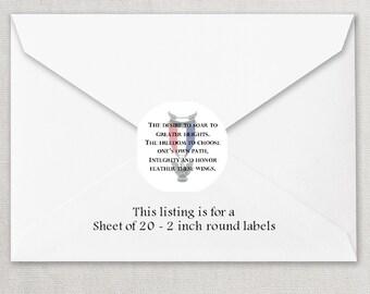 Envelope Seals - Eagle Scout Court of Honor Seals #3