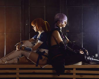 Dead or Alive 5 Kasumi and Ayane cosplay print