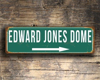 EDWARD JONES Dome Signs, Vintage style Edward Jones Dome Sign, Football Gifts, St. Louis Rams, rams Signs, Rams Vintage Stadium