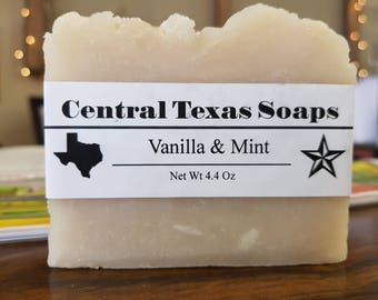 Vanilla & Mint Bath Soap