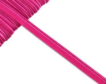 1m elastic piping fuchsia uni
