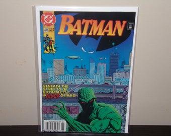 BATMAN (1940 Series) (DC) #471 Fine Comics Book