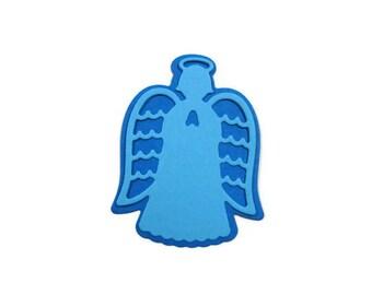 Angel Die Cut Set of 24 (2 of each design) 2 3/16 inch tall