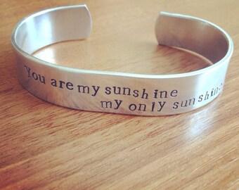 You are my sunshine my only sunshine...bangle