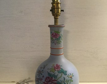Copeland Spode Table Lamp, 1860, Pattern 8186