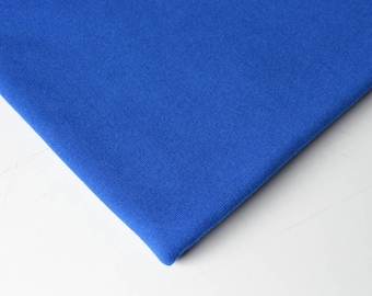 Fabric PATENT smooth Parisian blue | Per Metre