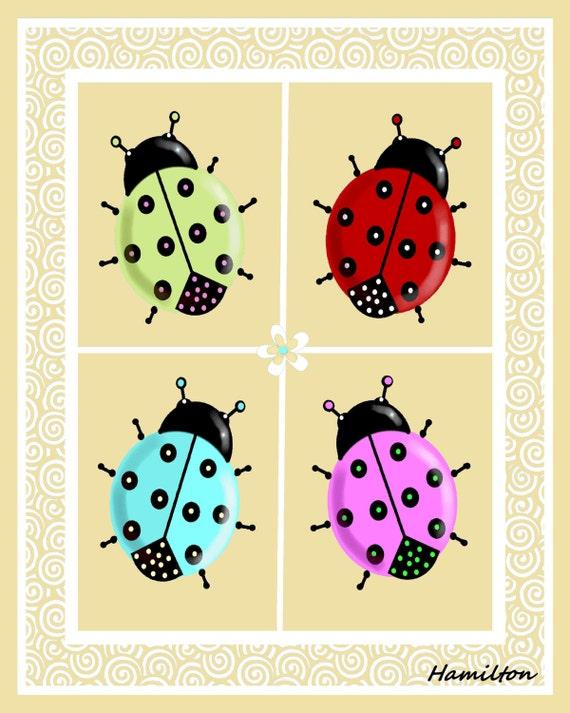 Ladybug art print ladybug pictures ladybug wall art. ladybug