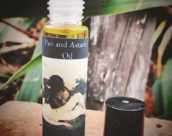 Pan and Astarte Oil - Fertility Oil - Spring Time - Rites of Spring - Pagan - Wiccan - Occult - Witchcraft