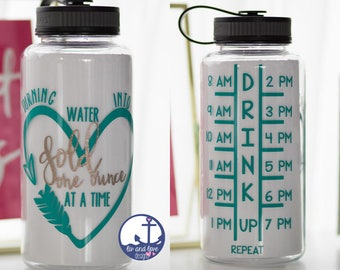 Turning water into gold one ounce at a time - breastfeeding water bottle - motivational - water bottle - baby shower gift - new mom gift