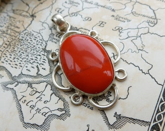 Stone Set Pendant, Stone Charm From India