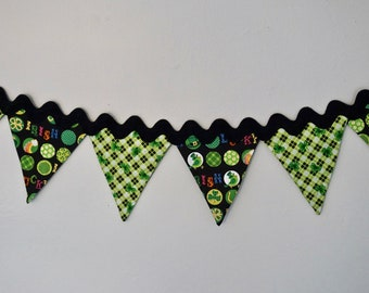 St Patrick's Day Party Decor, St Patrick's Day Bunting, Holiday Bunting