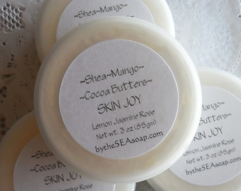 Body Butter  Skin Joy  Body Silk Whipped Butters