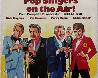 Pop Singers On The Air! - Radiola - MR-1149 - Dick Haymes - Vic Damone - Parry Como - Eddie Fisher - Vinyl