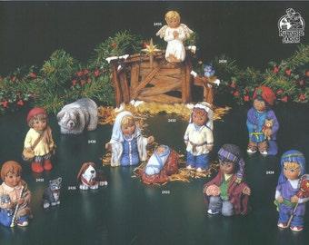 Kimple 13-Piece Child Bisque Nativity