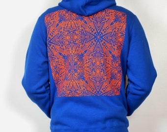 SALE Chicko Time Blue and orange Hoodie