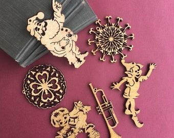 Flat Ornaments Bundle #12 - Free Shipping