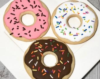 Donut Sugar Cookies