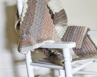 The Sand Preemie Blanket | Baby Blanket Crochet Pattern | Crochet Baby Blanket Pattern | Crochet Preemie Blanket Pattern | PDF Pattern