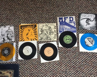 Hardcore punk records from the 80's