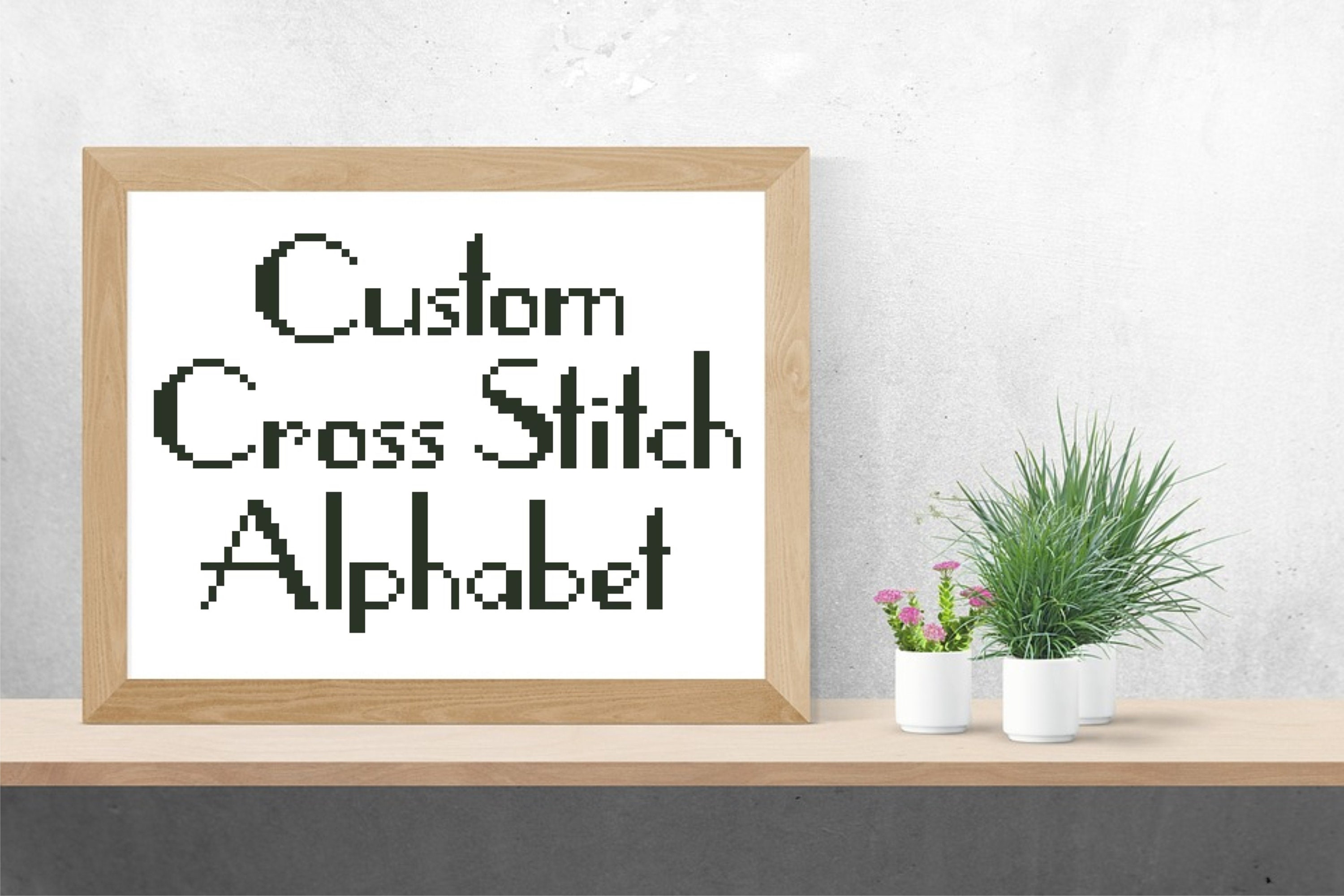 cross font fullxfull pdf alphabet deco zoom stitch pattern il art bands vintage small listing