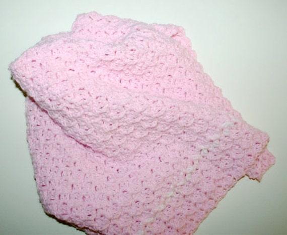 Crochet Baby Blanket Pattern / Baby Afghan Pattern Textured ...