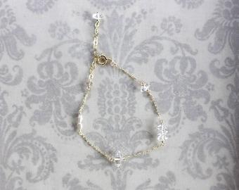 Double Point Crystal Bracelet