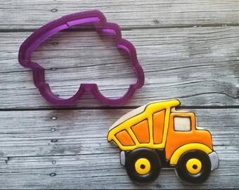 Dump Truck #2 Cookie Cutter and Fondant Cutter and Clay Cutter