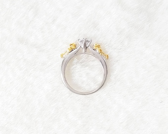 pikachu ring pokemon engagement wedding band
