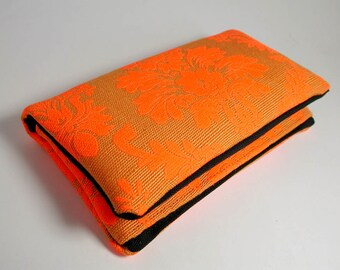 """Tobacco pouch, Wallet, Mobile Phone pouch """"orange"""""""