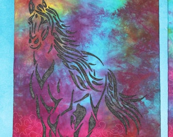 The Gallop Wall Hanging-The First of a group of Three