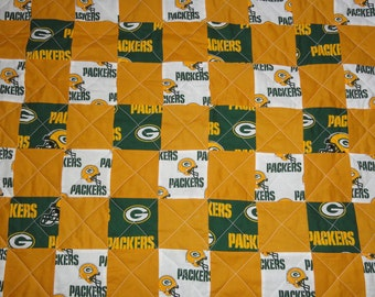 Green Bay Packers Full Size quilt