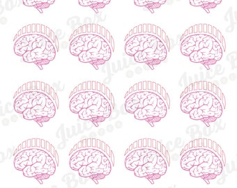 Set of 20 Migraine Meter Stickers for Various Planners, Calendars, Journals