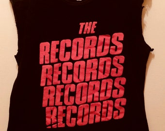 The Records/Starry Eyes 1979 /English Power Pop Vintage T-Shirt