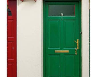 Irish Green Door Original Print