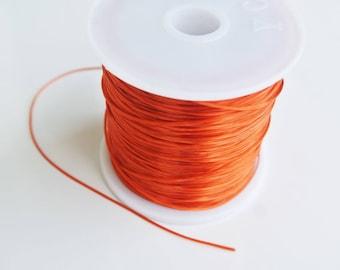 8 m with 0.5 mm orange elastic