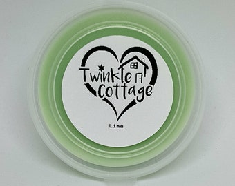 Lime Scented Soy Wax / Tart Melt Tub - Twinkle Cottage