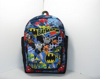 Custom Super Hero Preschool Backpack