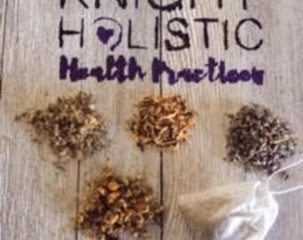 Soothing, Sore Throat Tea, Knight Holistic Herbal Tea