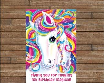 Set of 12 Personalized Unicorn Tags - Unicorn Favor Tags  - Unicorn Party  -  Magical Unicorn