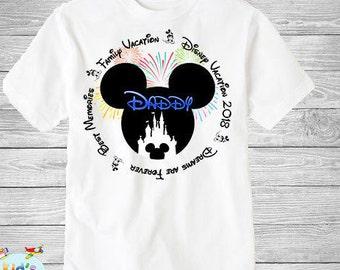 Family disney world shirts 2018, Disney Family Shirts, Matching Family Disney Shirts, Personalized Disney Shirts for Family  2018 des46