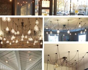 9 pendant light wrap 14 swag chandelier modern lighting unqiue light fixture hanging light ceiling light bright led bulb aloadofball Choice Image