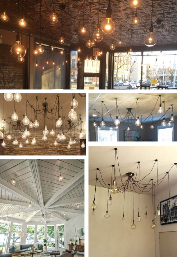 14 pendant light swag chandelier mozeypictures Choice Image