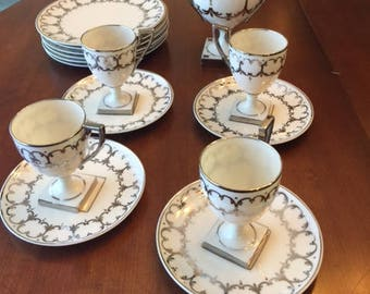Willets Belleek Luncheon Set