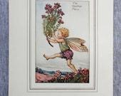 Heather Flower Fairy Vint...