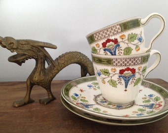 Wedgewood Altona demitasse cup and saucer set